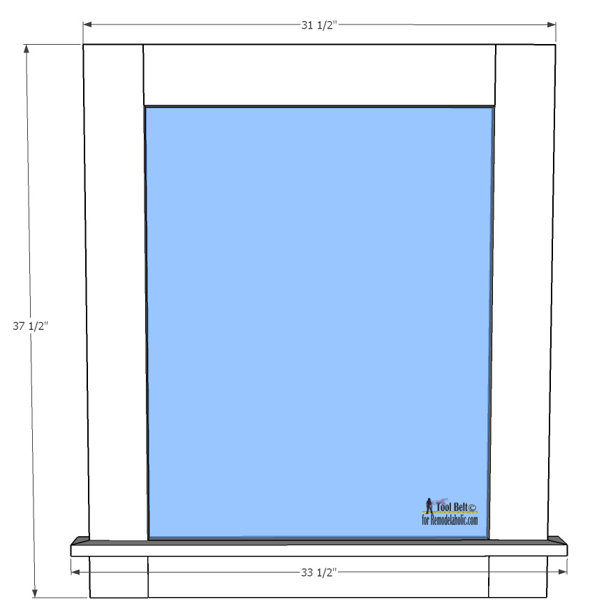 Remodelaholic Glass Wall Mounted Dry Erase Message Board
