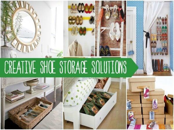 shoe storage header