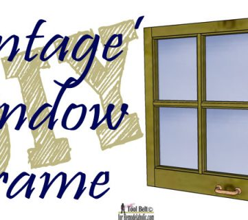 Build It: 6-Pane Decorative Window