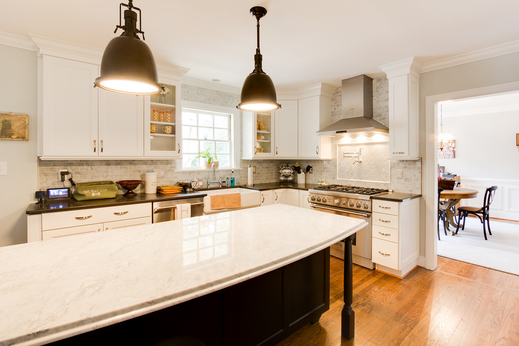 White Kitchen Renovation remodelaholic | gorgeous white kitchen renovation