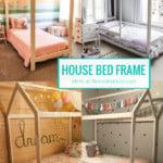 DIY Twin House Bed Frame Plans, HerToolbelt For Remodelaholic