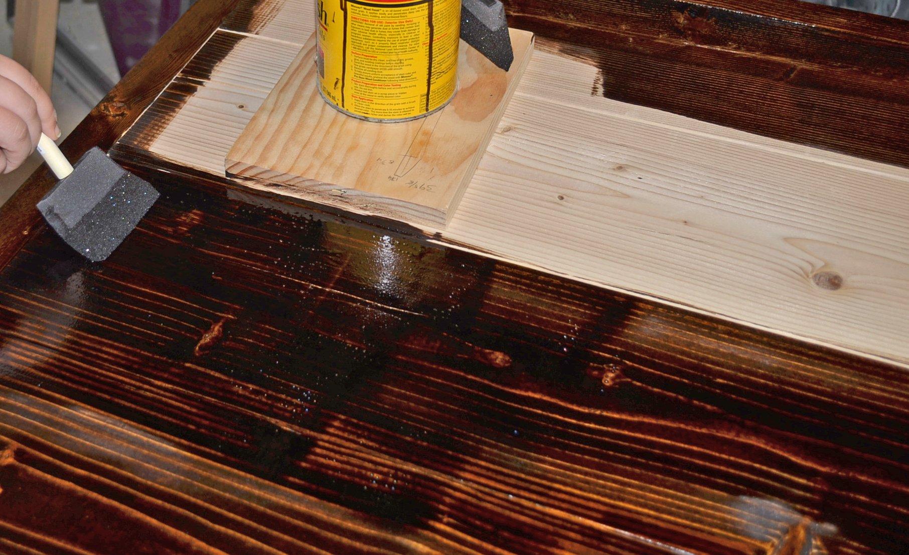 DIY Simple Wood Slab Coffee Table Remodelaholic Bloglovin - Build a simple coffee table