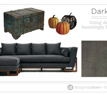 Dark & Moody Decor