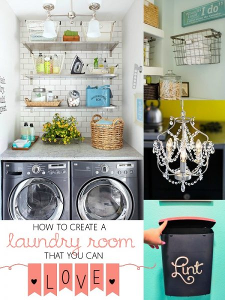 How to Create a Laundry Room You Love by Remodelaholic