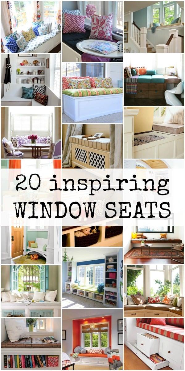 Remodelaholic 20 Inspiring Window Seats
