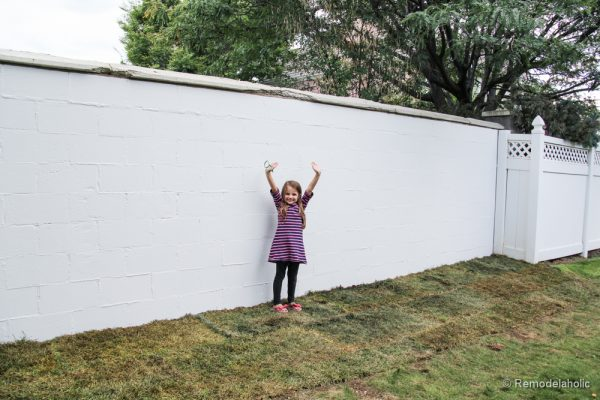 Painting a Cinder block fence @Remodelaholic (17 of 23)