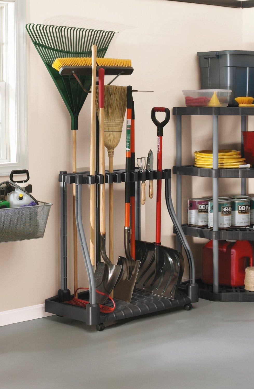 File Cabinet Garden Tool Holder