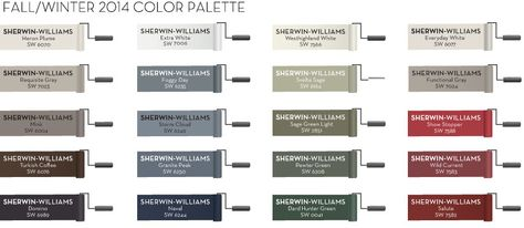 Pottery Barn 2017 Fall Paint Color Collection Remodelaholic