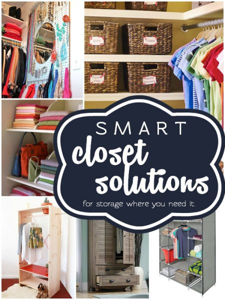 Smart Closet Solutions by Remodelaholic