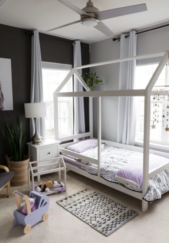 Bybrittanygoldwyn Twin House Bed With Safety Rails, Plans By Remodelaholic