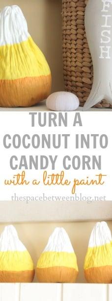 candy corn craft idea