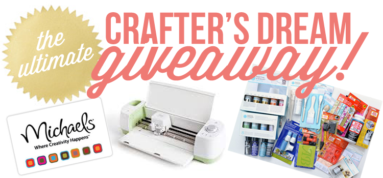 The Ultimate Crafter's Dream Giveaway