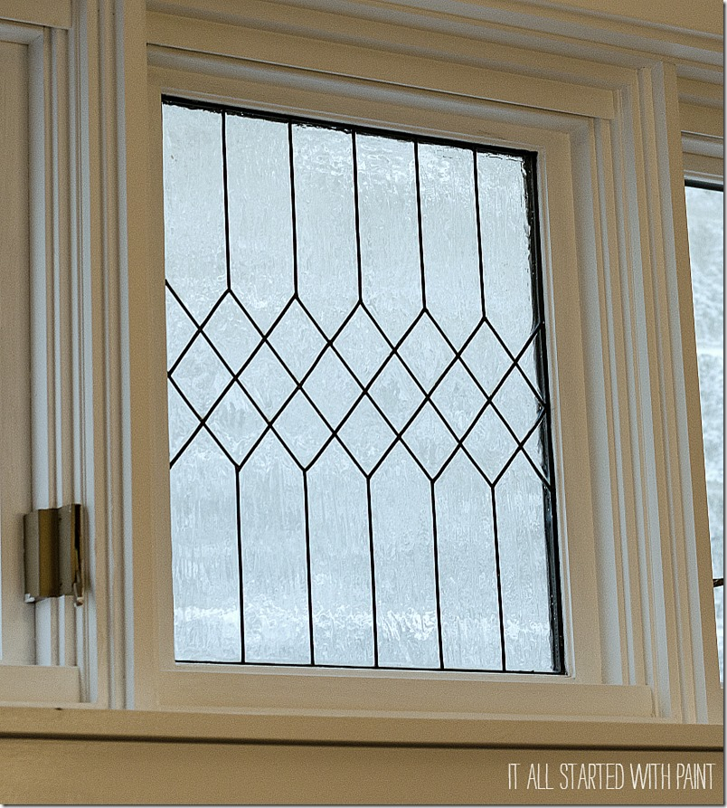 Remodelaholic how to diy faux leaded glass windows for Transom windows
