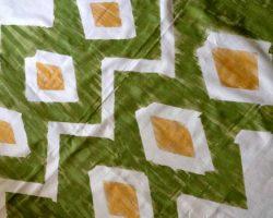 feature Houseologie - diy painted ikat curtains - via Remodelaholic