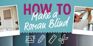 feature How to Make a Roman Blind - 3 Ways [infographic]