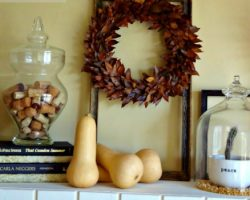 feature fall decorating