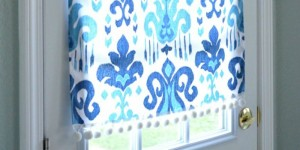 feature no-sew magnetic window covering
