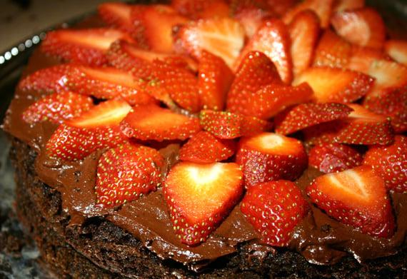 Black Bean Chocolate Cake