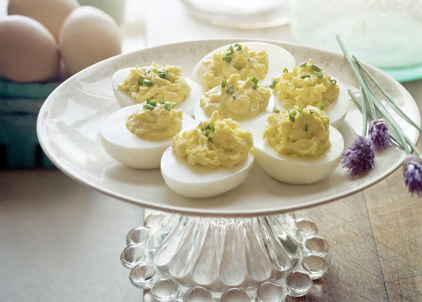 Mustardly Deviled Eggs