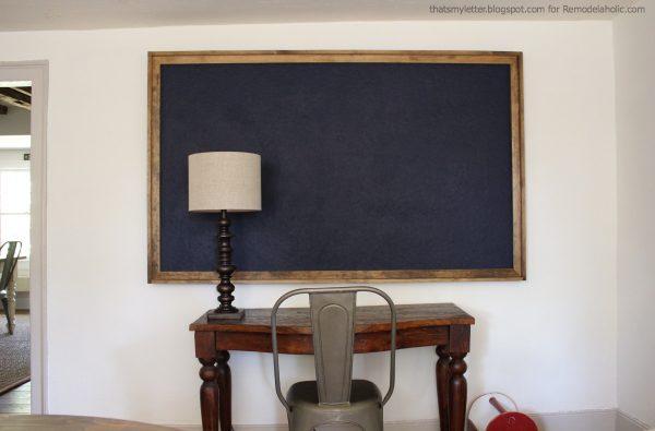 giant framed bulletin board 1