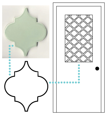 Remodelaholic diy window privacy film using contact paper for Window design template