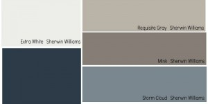 pottery barn paint colors