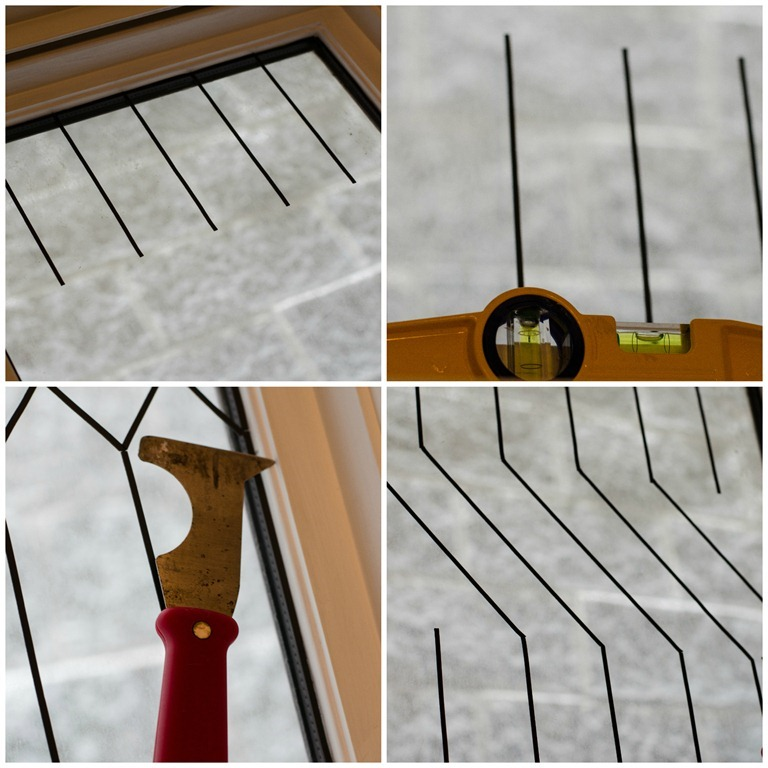 How to DIY Faux Leaded Glass Windows | Remodelaholic ...