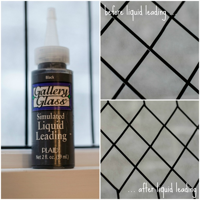 Remodelaholic How To Diy Faux Leaded Glass Windows