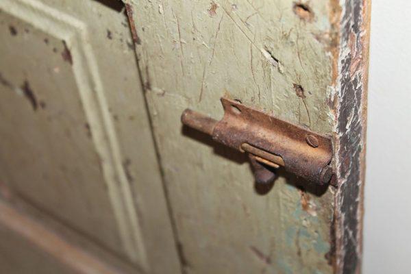 vintage pantry barn door, Girl Meets Carpenter on @Remodelaholic