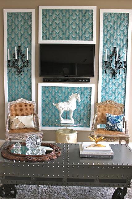 wallpaper panel frame