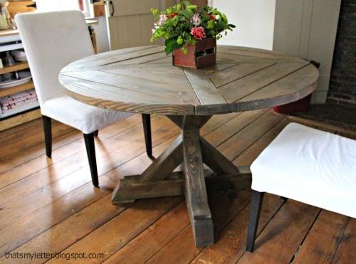 x base round table