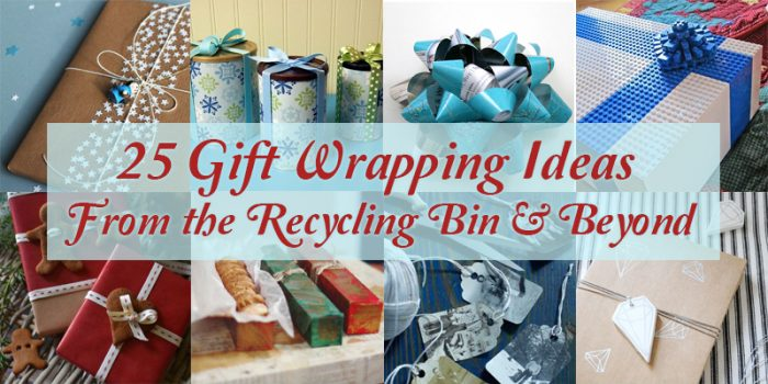 25 Upcycled and Low-Cost Gift Wrapping Ideas
