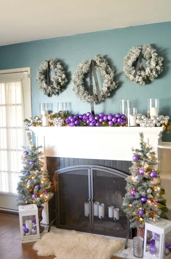 Remodelaholic Hot Pink Holiday Decorating With Non