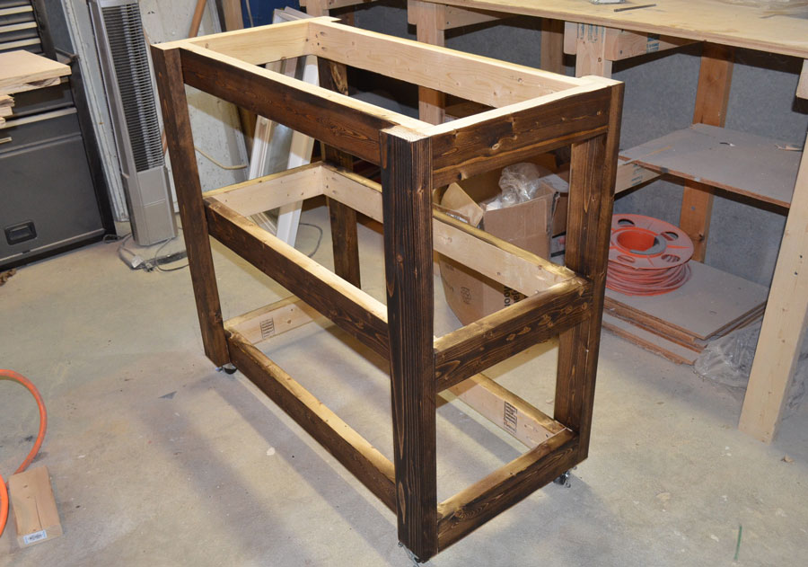 Build a Wood Bar Cart for Entertaining and Storage; Day 5 ...