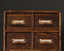 DIY Card Catalog Box The Gathered Home for Remodelaholic featured image
