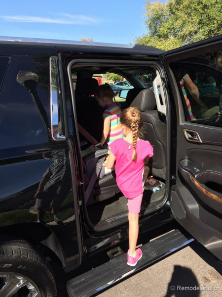 Family trip with GMC-