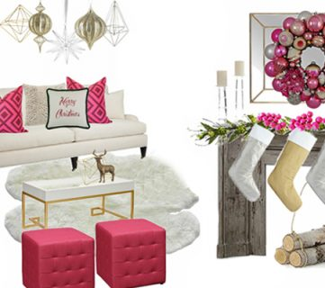 Hot Pink Holiday! Decorating with Non-traditional Holiday Colors