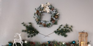How to make an aroma scented wreath for the holidays - Feature Image