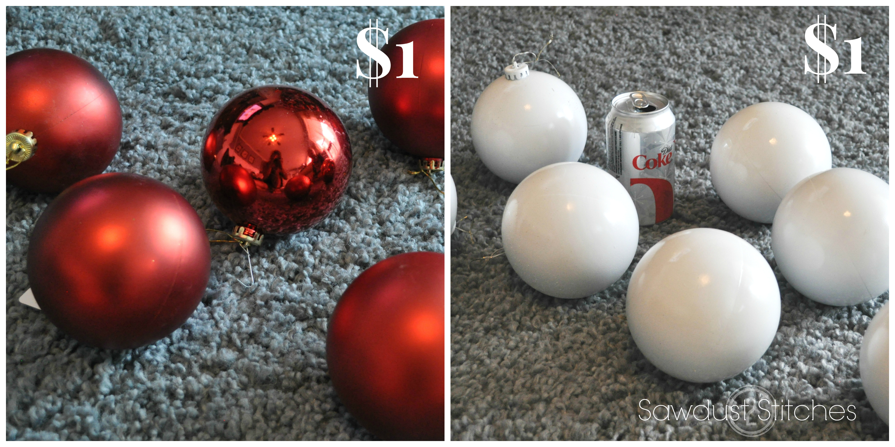 how to decorate a christmas tree like a professional remodelaholic sawdust2stitches - Decorating With Large Christmas Ornaments