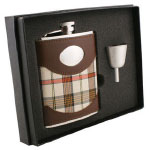 Rad Plaid Flask