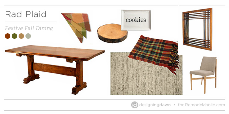 Rad Plaid Feature - Designing Dawn on @Remodelaholic