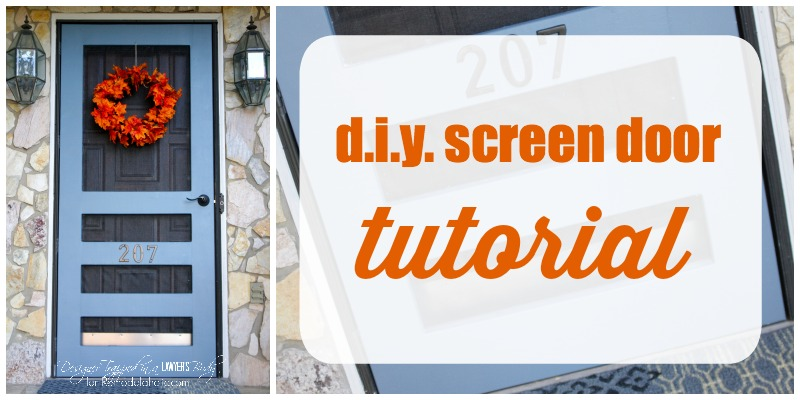 DIY Screen Door Tutorial
