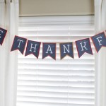 Thanksgiving Banner on Remodelaholic