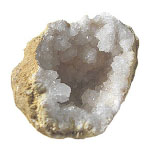 Winter Whites Geode