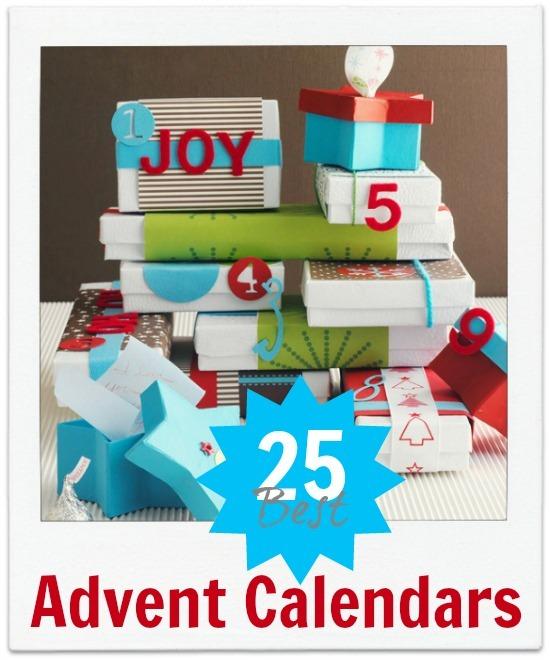 advent calendar 25 ideas