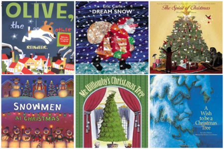 Childrens Christmas Books, A Collection On Remodelaholic