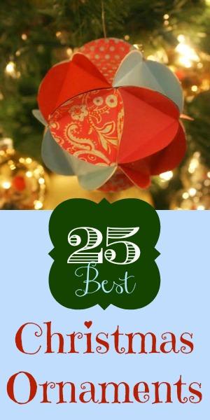 christmas ornament 25 ideas