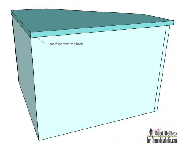 Easily build extra storage for your tight spaces with these free DIY corner shelf plans on remodelaholic.com