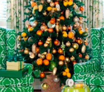 Decorating with Non-Traditional Christmas Colors