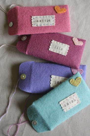felt gift card envelopes